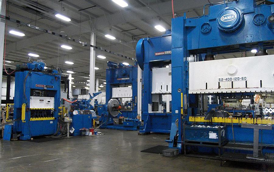 LTC Stamping Press