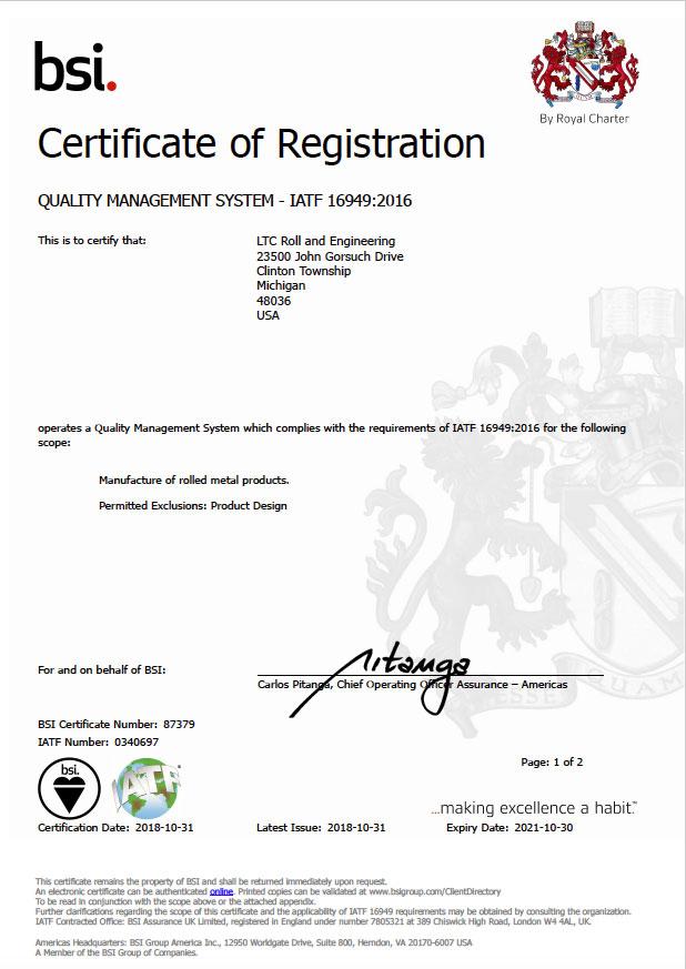 ltc certification