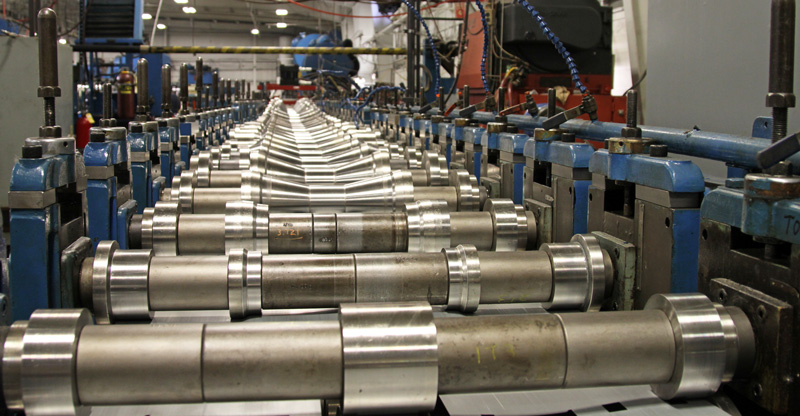 roll forming line at ltc roll and engineering